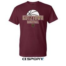 Maroon Basketball Sports Tee