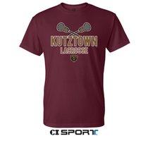 Maroon Lacrosse Sports Tee