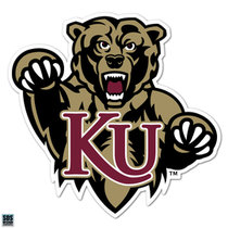 "6"" Full Bear KU Vinyl Decal"