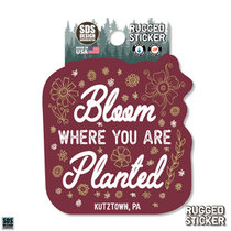 Rugged Sticker Bloom Where you are