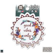 Rugged Sticker Good Vibes