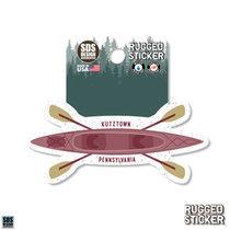 Rugged Sticker Kayak