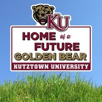 Lawn Sign Future Golden Bear