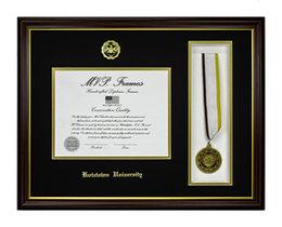 MVP MEDAL CHERRY FRAME w/ GOLD LIP