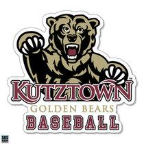 Golden Bears Baseball Sports Decal