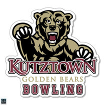 Golden Bears Bowling Sports Decal