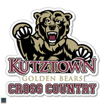 Golden Bears Cross Country Sports Decal