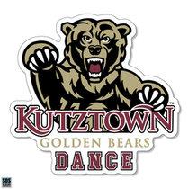 Golden Bears Dance Sports Decal