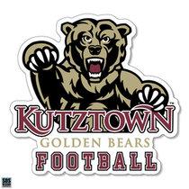 Golden Bears Football Sports Decal