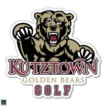 Golden Bears Golf Sports Decal