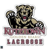 Golden Bears Lacrosse Sports Decal