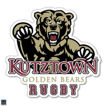 Golden Bears Rugby Sports Decal