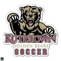 Golden Bears Soccer Sports Decal