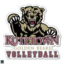 Golden Bears Volleyball Sports Decal