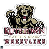 Golden Bears Wrestling Sports Decal