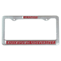 ALUMNI LICENSE FRAME PEWTER