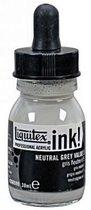 ACRYLIC INK NEUTRAL GREY VALUE 5 30ML LIQUITEX