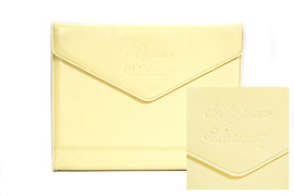 Padholder Tri-Fold Envelope Kutztown University Script Deboss