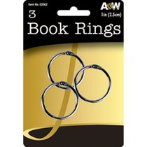 Book Rings 1 inch