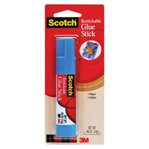 3M PHOTO SAFE GLUE STICK .45OZ RESTICKABLE