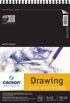 Pure White Drawing Pad 80lb 24 Sheet Artist Series
