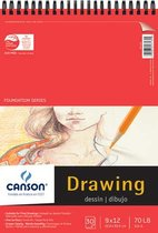 Drawing Pad 70lb 30 Sheet Foundation Series