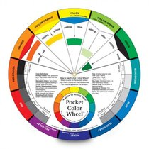 Color Wheel 5inch DoubleSided Pocket Sized