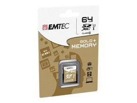 Emtec Gold 64 GB Class 10 SD Memory Card