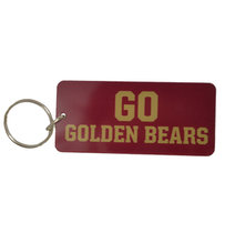 INLAID KEY RINGS GO GOLDEN BEARS