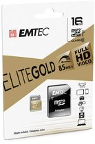 Emtec Gold 16GB Mico SD w/adapter Class 10