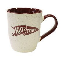 16 oz. Cermaic Granite Mug with Pennant
