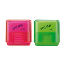 MILAN SCHOOL 430 ERASER WITH PROTECTIVE CASE