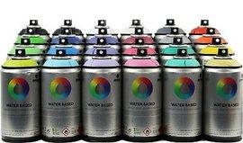 Montana Waterbased Spray Paints