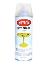 Spray Dry Erase Clear Coating