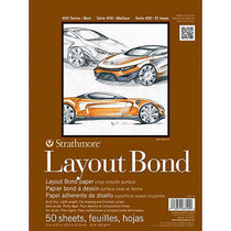 Layout Bond 16lb 50 Sheet
