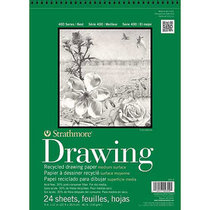 All Purpose Drawing Pad 80lb 24 Sheet 400 Series Recycled