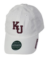 Overlap Block KU Hat - Kutztown on Brim